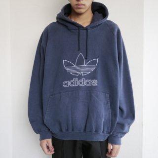 old adidas trefoil hoodie