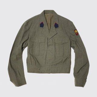vintage 60's belgiam military ike jacket