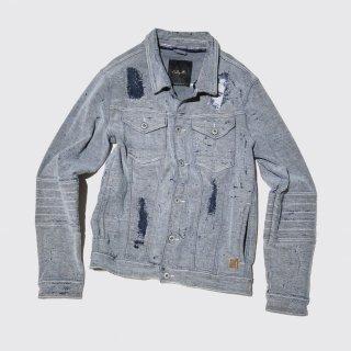 old crash trucker jacket