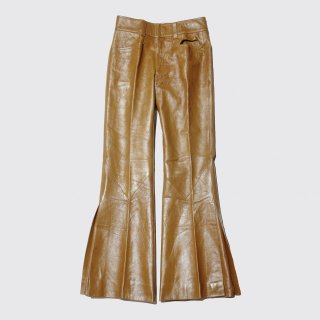 vintage sax enterprises order made flare leather trousers