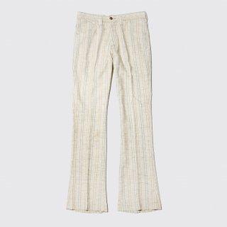 vintage farah stripe flare trousers