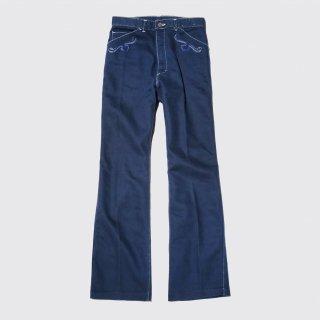 vintage broderie jeans