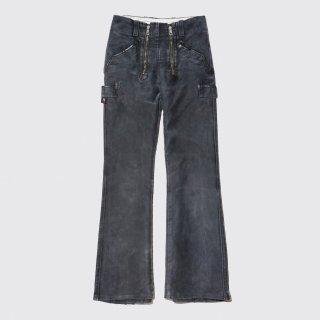 vintage mole skin flare rogger trousers