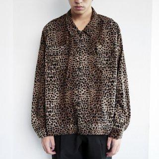 old leopard zipped jacket