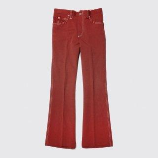 vintage panatela levi's flare poly trousers