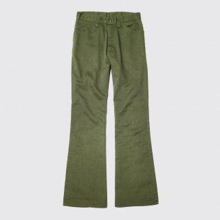 vintage flare denim trousers
