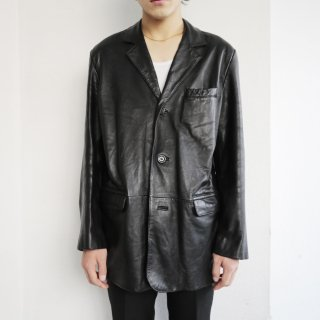 old leather tailored jacket