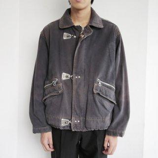 old faded fireman jacket