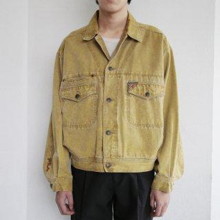 old fila washable trucker jacket
