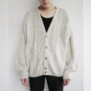 old euro cable cardigan