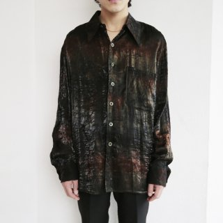 old winkle iridescent shirt