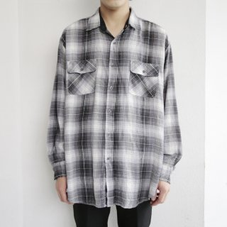 old ombre check shirt
