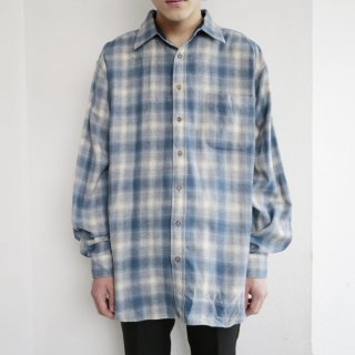old pendleton ombre check shirt