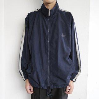 old stussy nylon track jacket