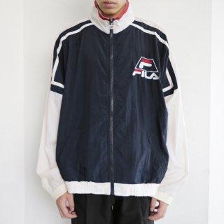 old fila nylon track jacket