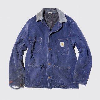 vintage carhartt broken michigan chore coat