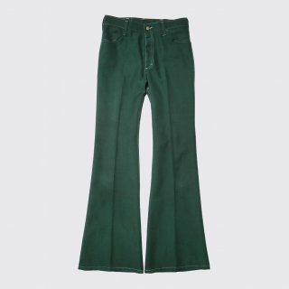vintage lee flare poly trousers