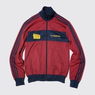 adidas y2k barcelona jersey track jacket
