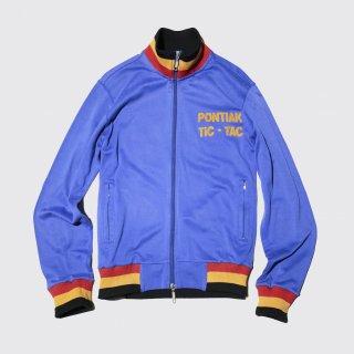 vintage euro broderie jersey track jacket