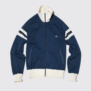 vintage izod lacoste jersey track jacket