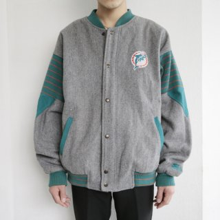 old starter dolphins varsity jacket