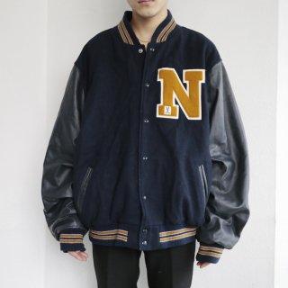 old varsity jacket
