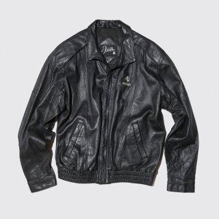 old ferrari leather jacket