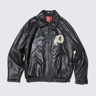 vintage nfl redskins leather jacket