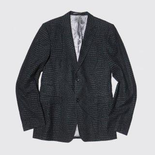 vintage python tailored jacket