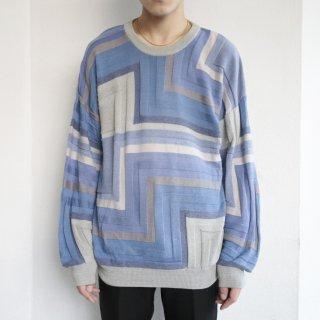 old geometry sweater