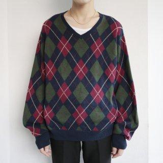 old polo ralph lauren argyle sweater
