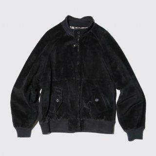 vintage suede leather harrington jacket
