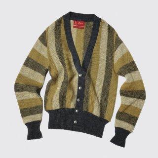 vintage jantzen stripe cardigan