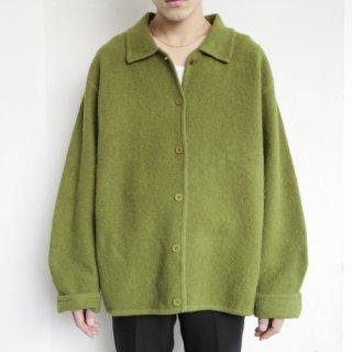 old fluffy wool jacket