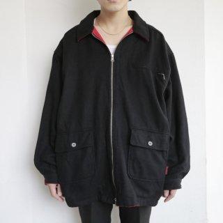 old marlboro reversible loose wool jacket