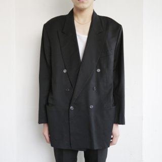 vintage yves saint laurent double breasted tailored jacket