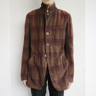 old marithé françois girbaud draping tailored jacket