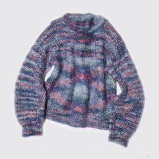 vintage mix mohair sweater