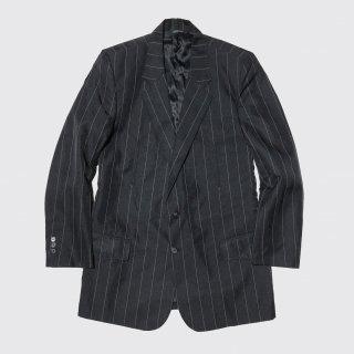 vintage stripe western tailored jacket