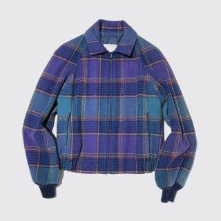 vintage pendleton check wool jacket