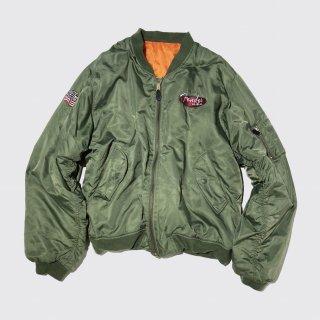 vintage fender type ma-1 jacket