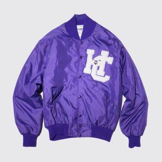 vintage delong nylon varsity jacket