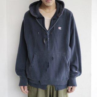 boro custom hoodie , body-champion y2k reproduct reverse weave