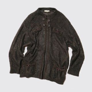 vintage mohair knit jacket