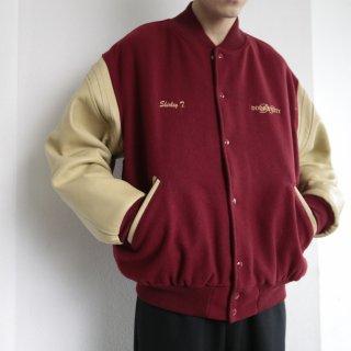 old uaw varsity jacket