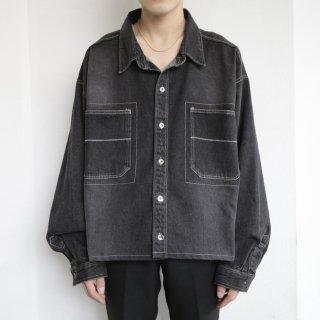 old box denim jacket