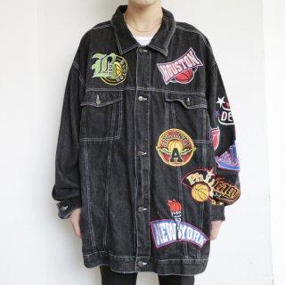 old emblem buggy trucker jacket
