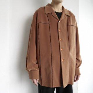 old piping 5b shirt jacket