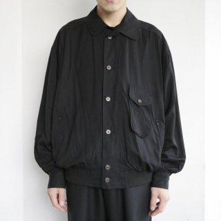 old rayon rib jacket