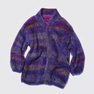 vintage mix mohair knit jacket